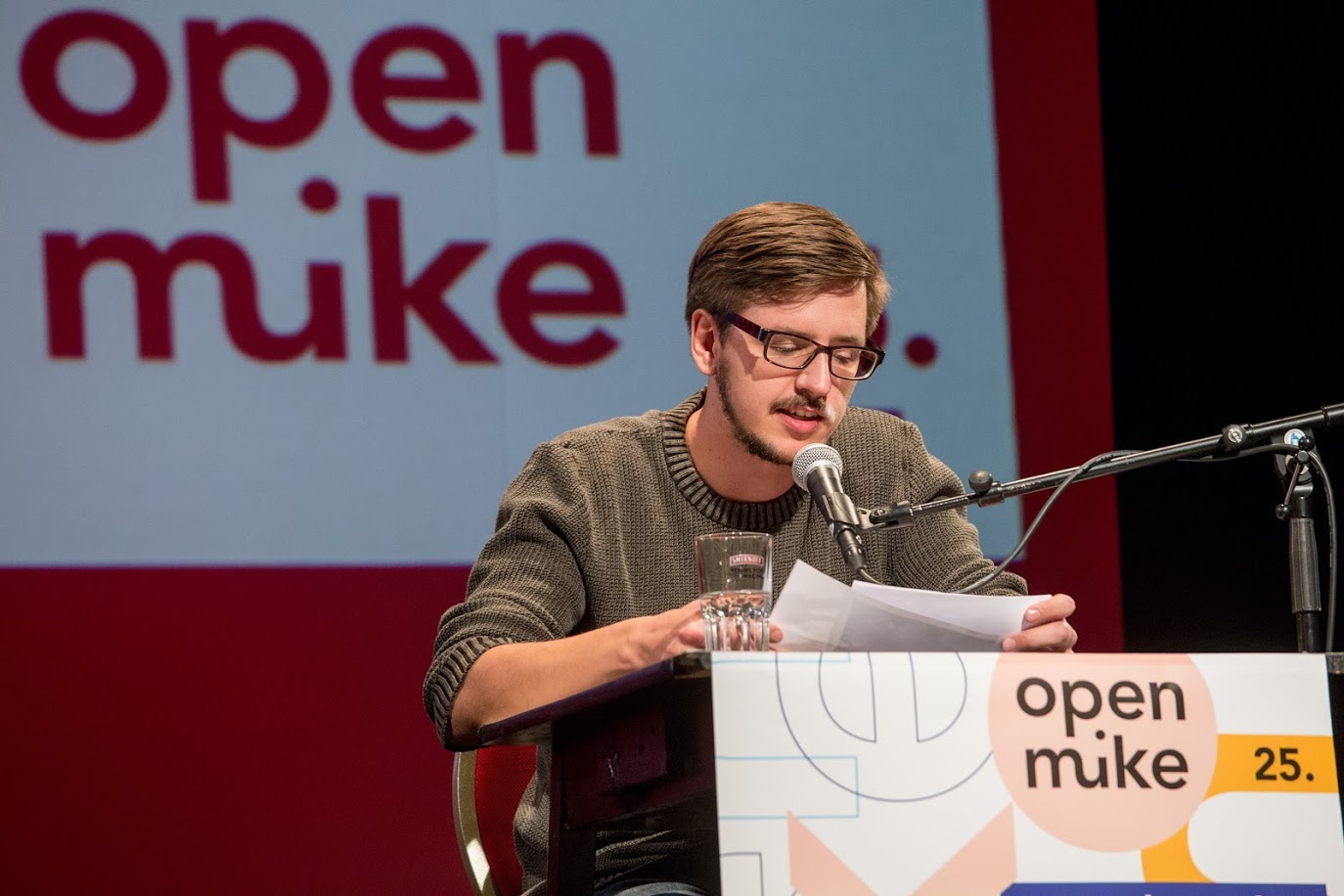 open mike 2017 – erster Tag