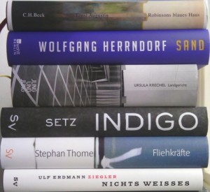 Shortlist Bücherstapel