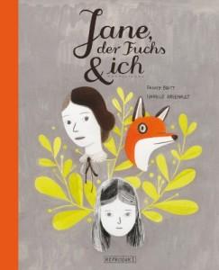 """""""Jane, der Fuchs und ich"""" Graphic Novel Reprodukt"""