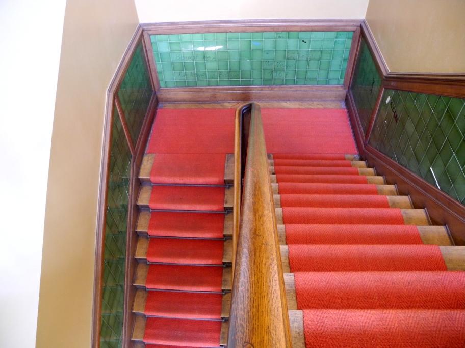 ...und dann ist unser Besuch auch schon wieder vorbei und wir verschwinden durch's Treppenhaus.