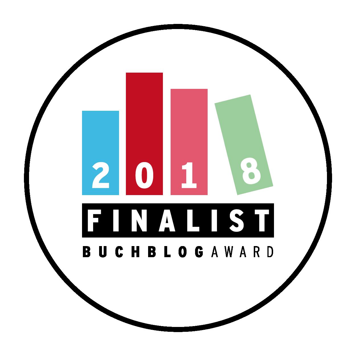Finalist Buchblog-Award 2018