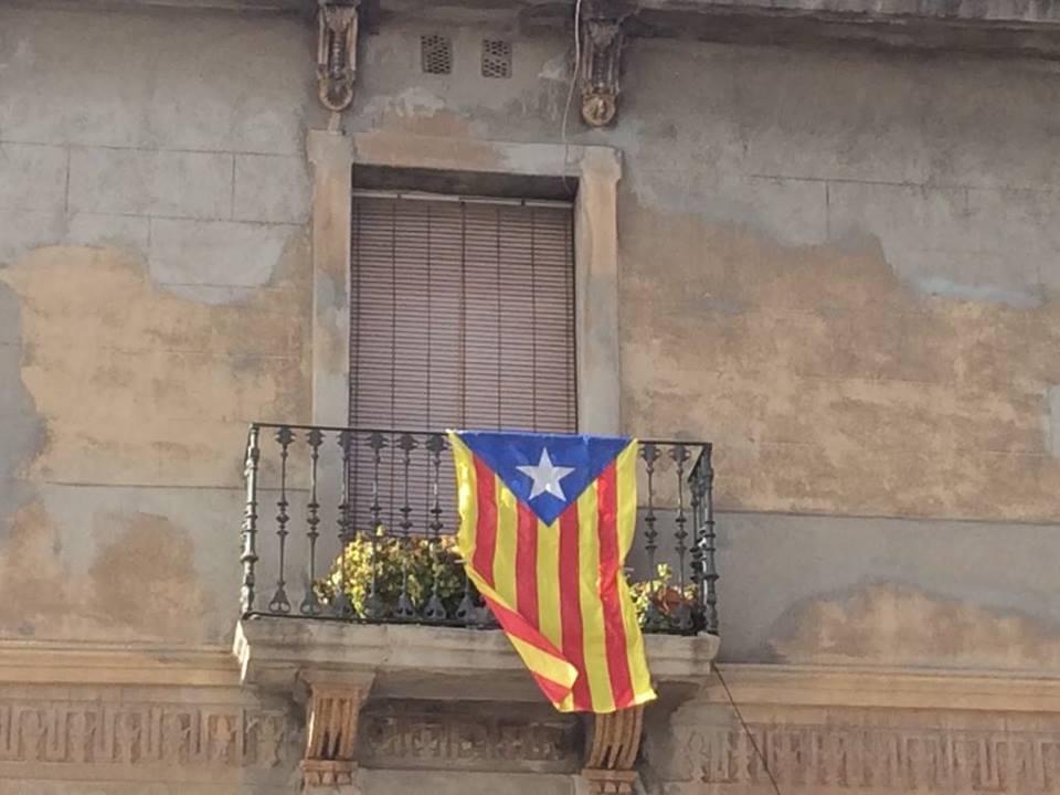 Katalanische Flagge © Merle Ostendorp