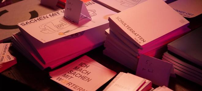 Treffen sich vier Literaturmagazine…