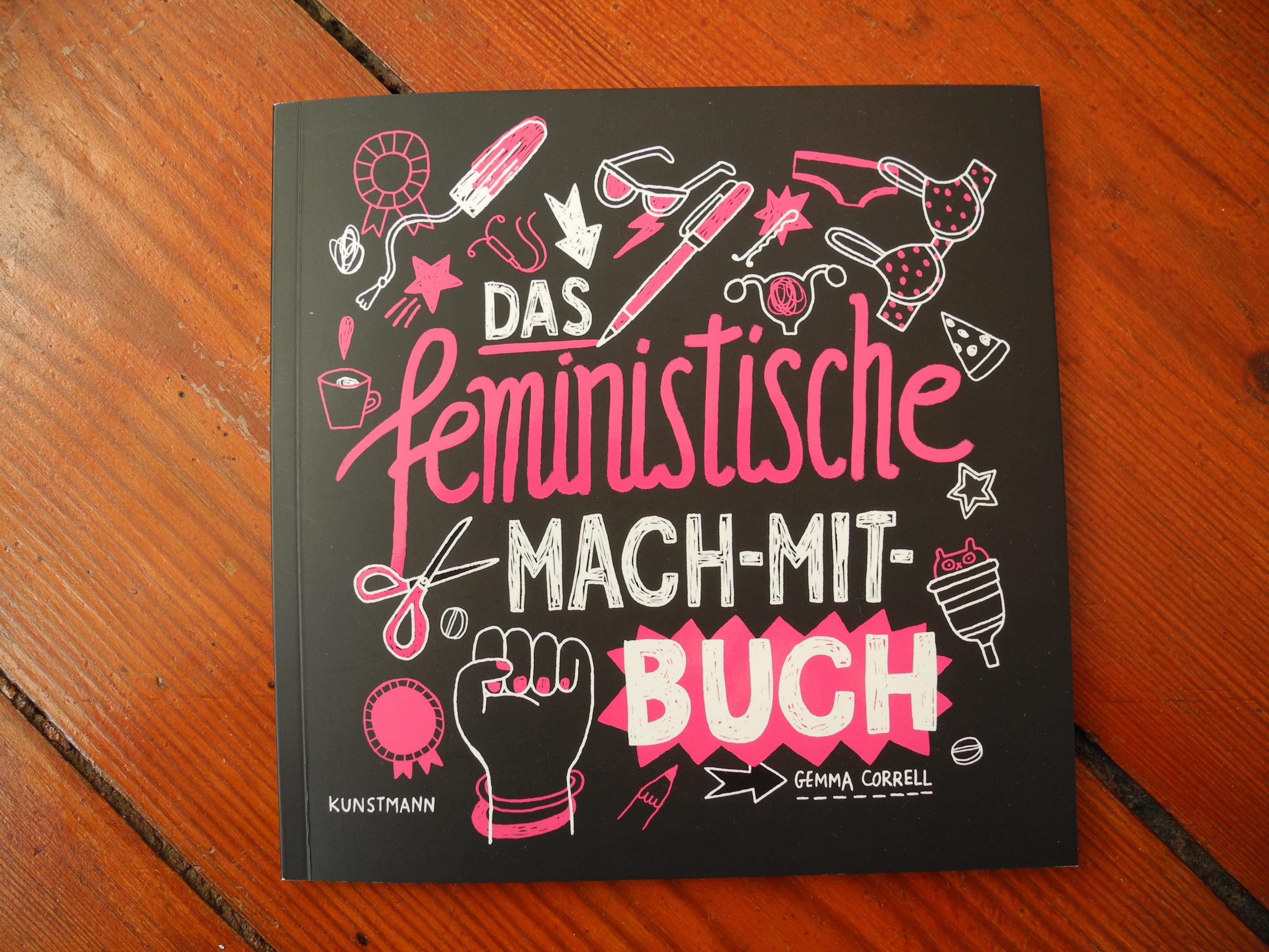 """Gemma Correll """"Das feministische Mach-Mit-Buch"""" © Angie Martiens"""