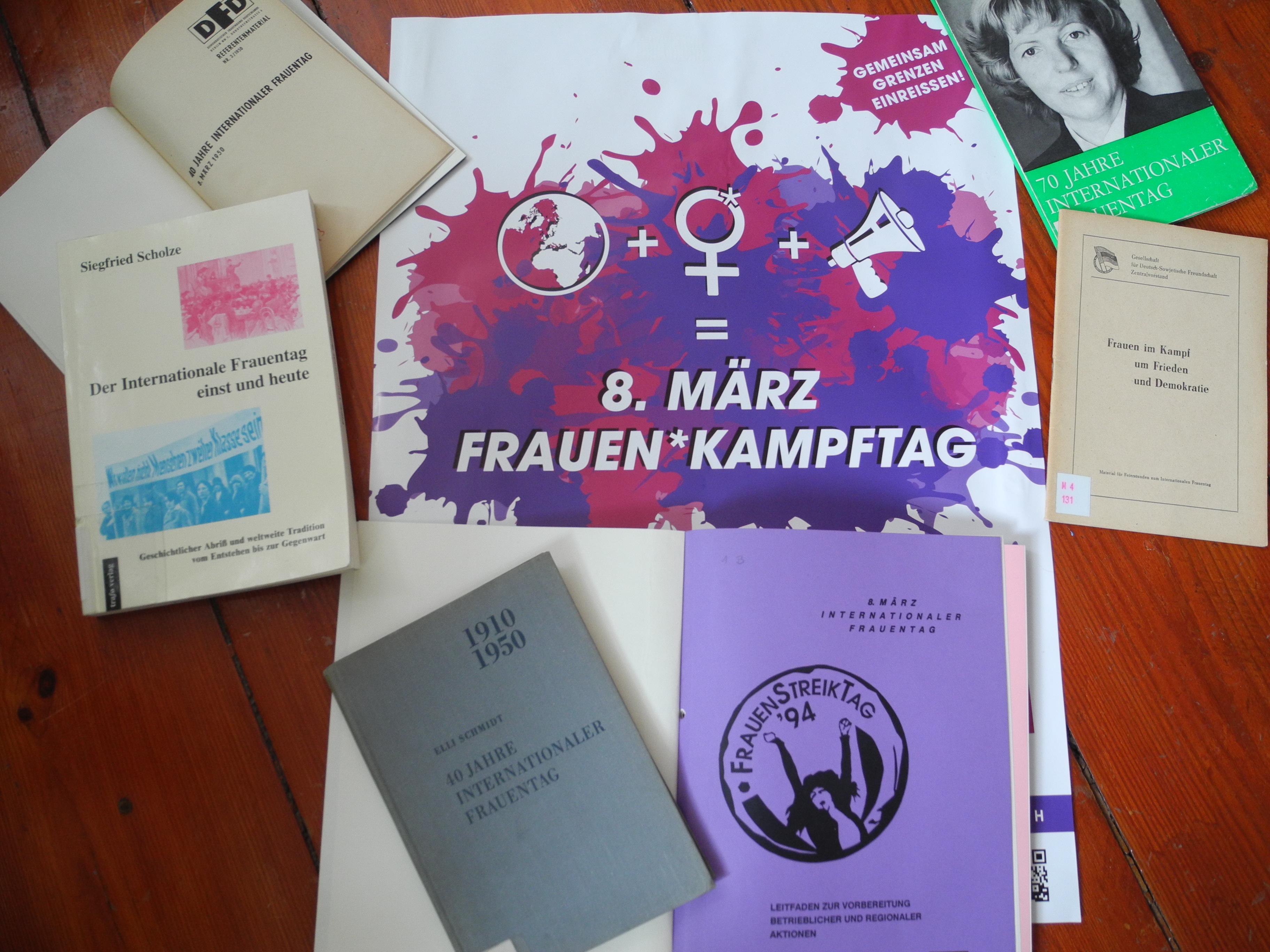 Feministische Tipps rund um die Lese- und Buchkultur 8. März-Special © Angie Martiens