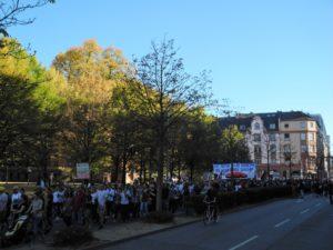 Demonstration #Wirsindmehr Frankfurt © Angie Martiens
