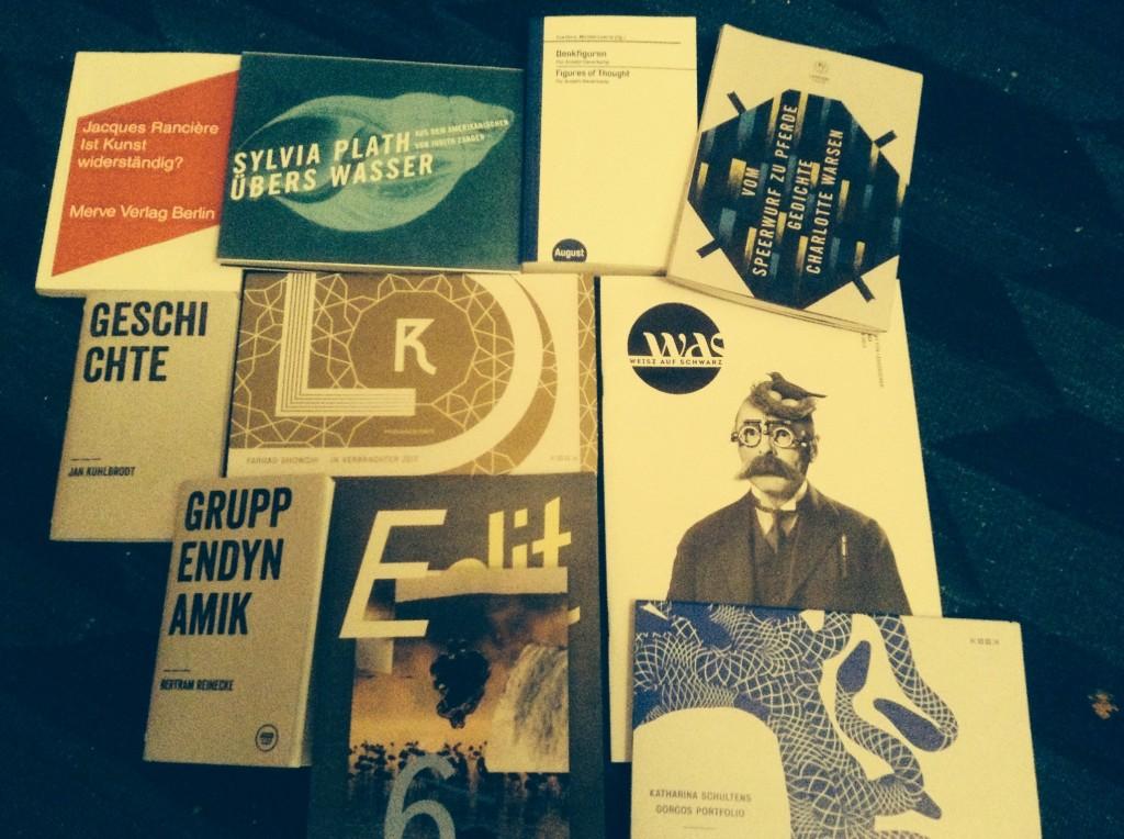 Ausbeute: Leipziger Buchmesse 2014