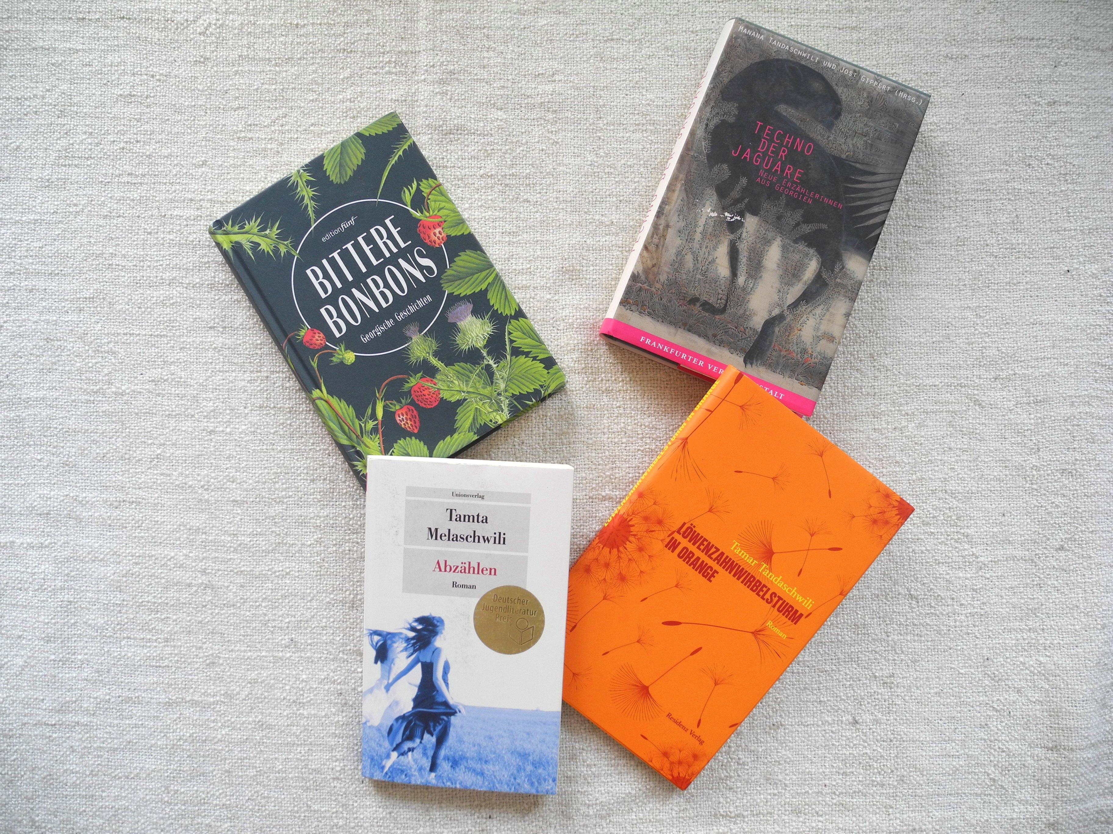 Georgische Autorinnen – eine Literaturauswahl © Angie Martiens