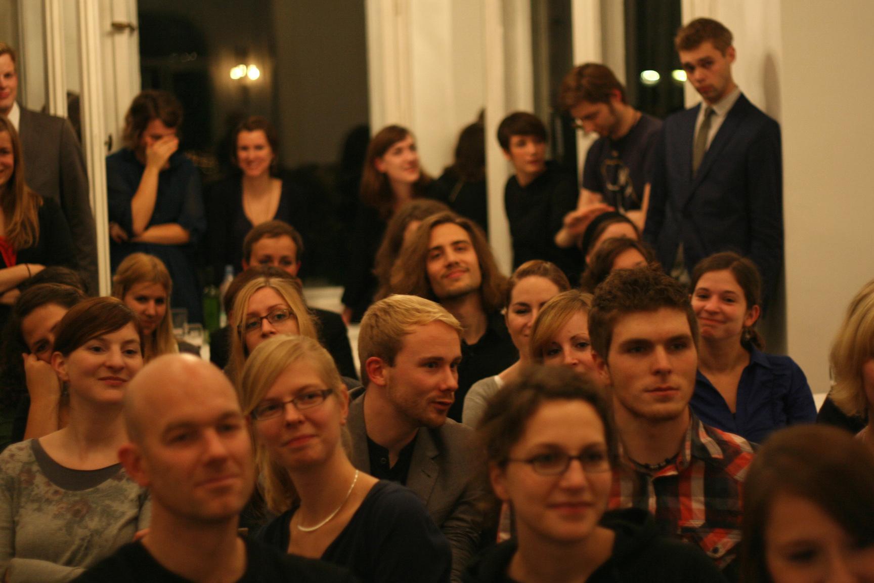 """""""Ruft Goethe an?""""  John von Düffel bei der Absolventen- und Immatrikulationsfeier"""
