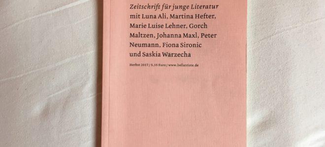 Spinner, Timelines und Gendergeschichten: Drei Höhepunkte der Herbst-Bellatriste