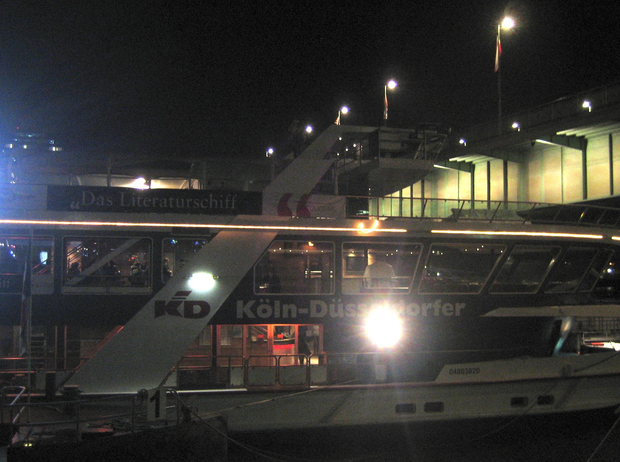 """,,We are drifting out to sea!"""" – James Sallis zu Gast auf dem Literaturschiff der lit.COLOGNE"""