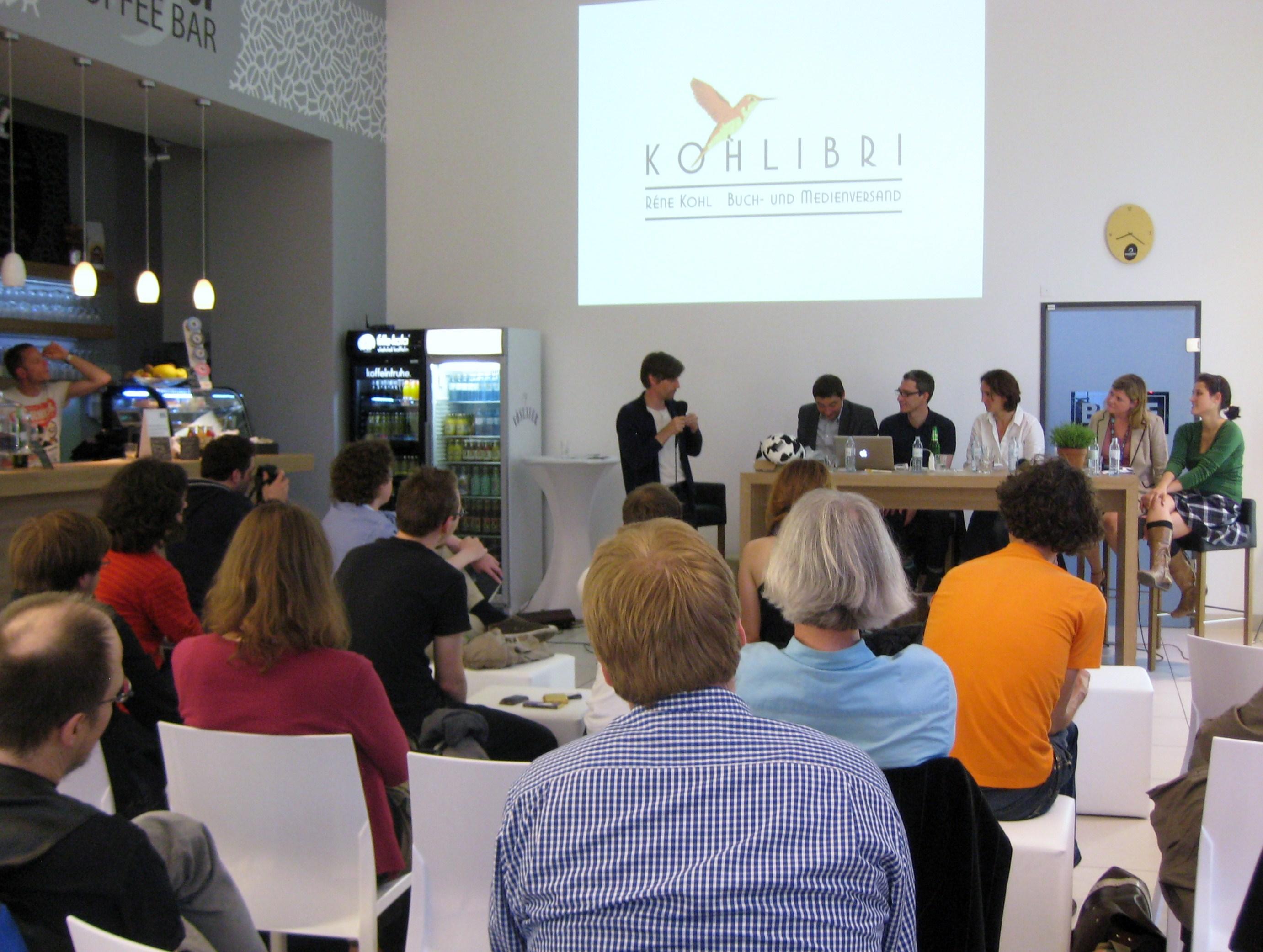 """BuchCamp Berlin: """"Visionen zulassen"""" oder """"Wie sexy ist ein eBook-Reader?"""""""