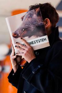 """Christine Koschmieder las aus ihren Roman """"Schweinesystem"""" © Sven Klages"""