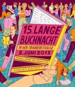 Logo der 15. Langen Buchnacht