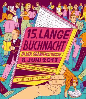 Die 15. Lange Buchnacht am 8. Juni 2013