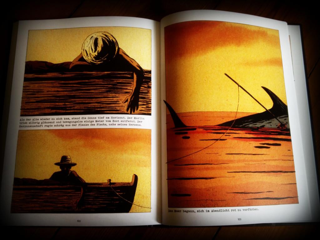 """aus """"Der alte Mann und das Meer"""""""
