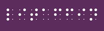 LITAFFIN in Brailleschrift