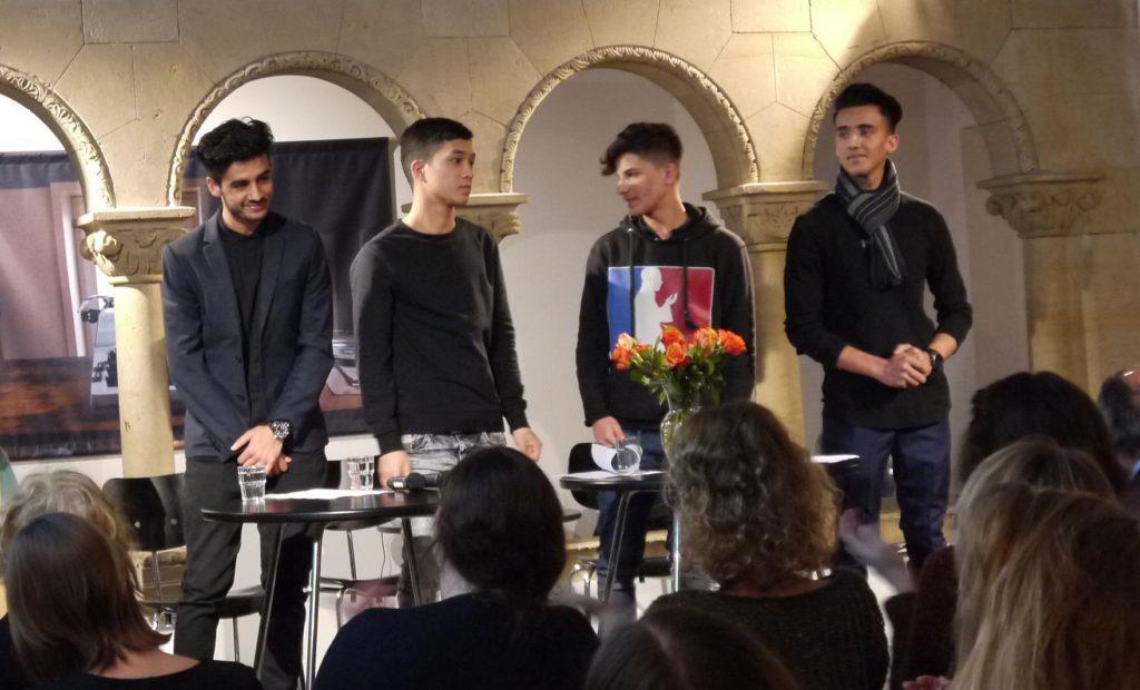 Die Autoren des Poetry Project