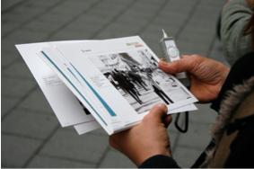 Unterwegs in Geschichten: Audiowalking
