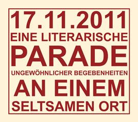 In eigener Sache: Eine literarische Parade mit Nora Gomringer und Finn-Ole Heinrich