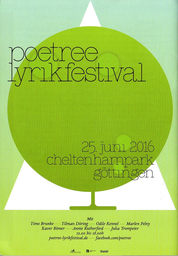 Poetree Lyrikfestival 2016