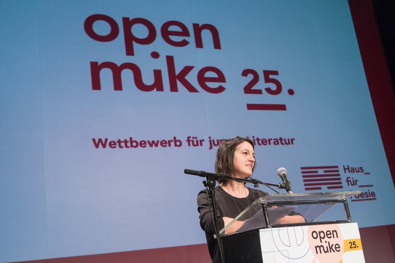 Preisverleihung 25. open mike 2017