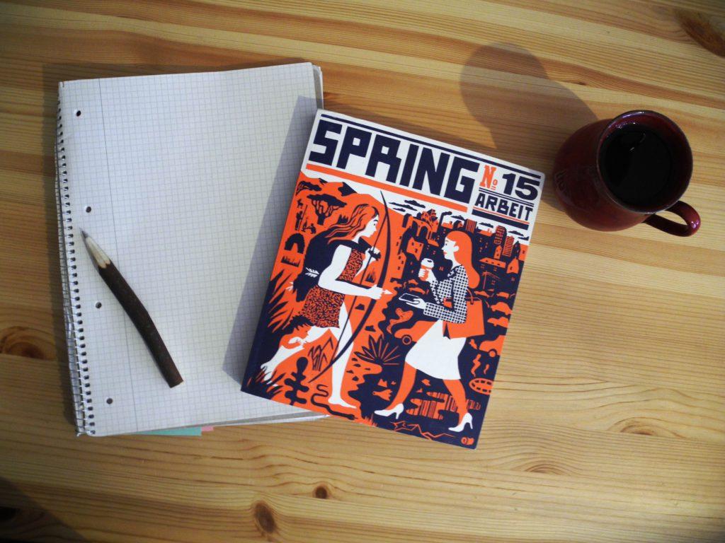 Spring No. 15 – Arbeit (Mairisch 2018) ©Angie Martiens