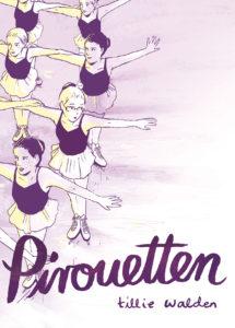 Das Buchcover © Tillie Walden: Pirouetten. Reprodukt 2018.