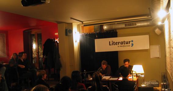 jung & unabhängig: Literatur in Weißensee