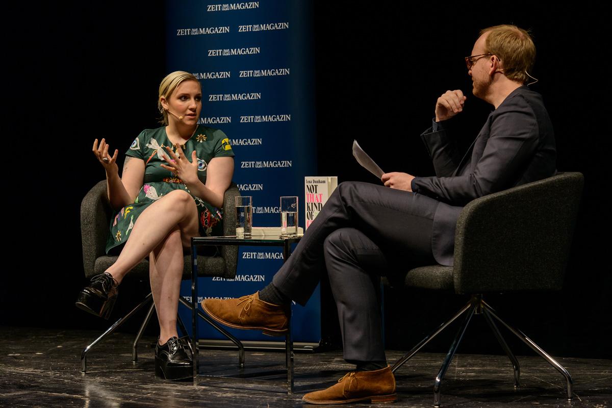 Lena Dunham in Berlin