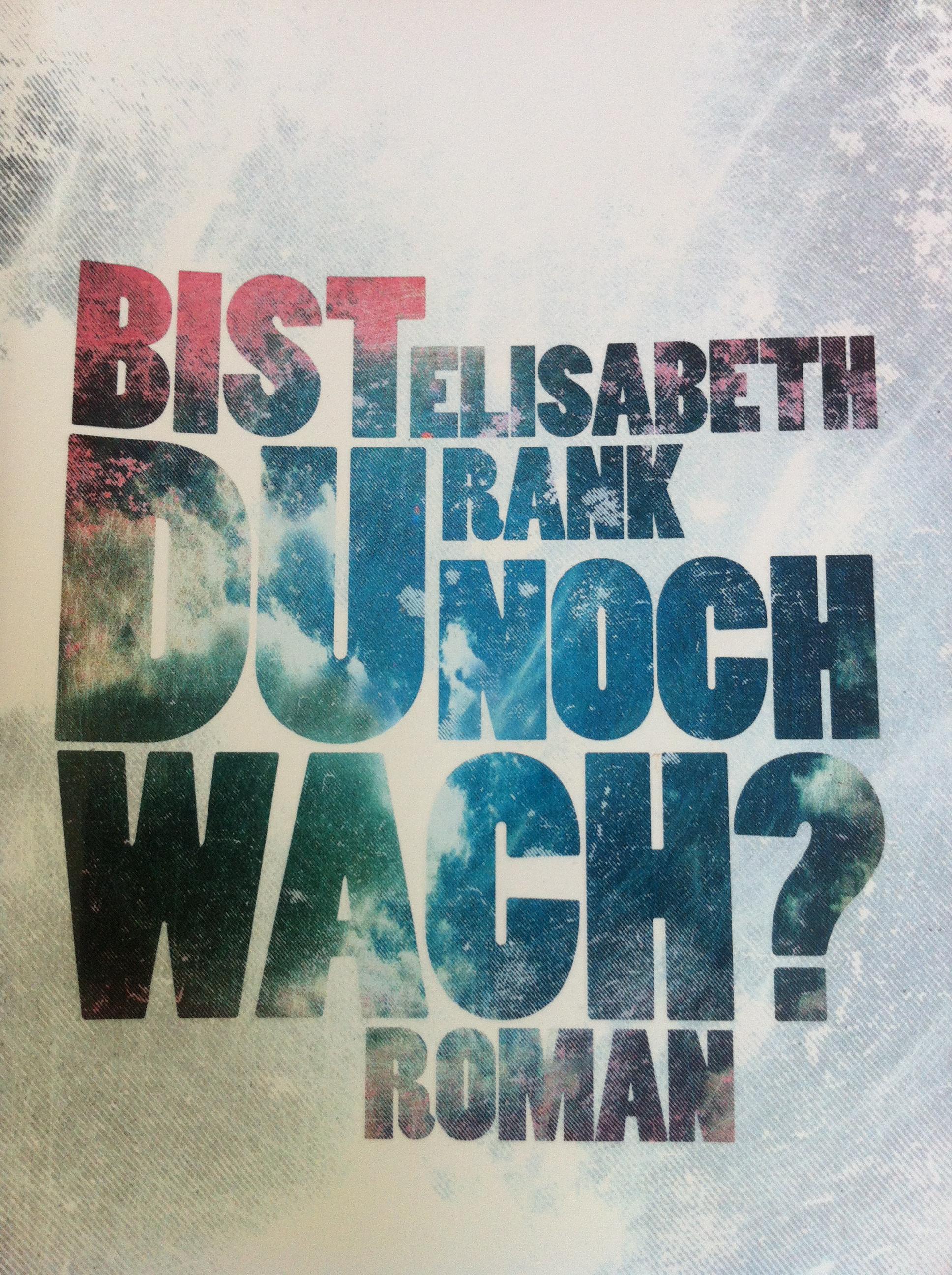 Buchpremiere Elisabeth Rank »Bist du noch wach?«