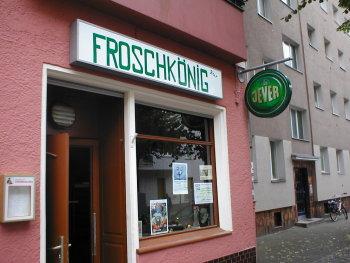 Literatur- und Pianobar Froschkönig in Neukölln