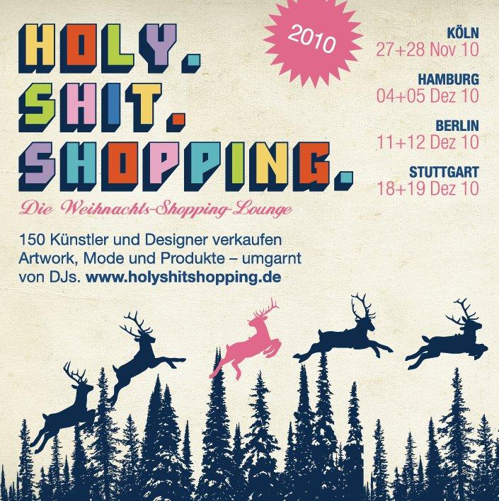 """""""Holy Shit!"""" Bücher auf dem Weihnachtsmarkt"""