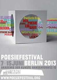 Poesiefestival 2013