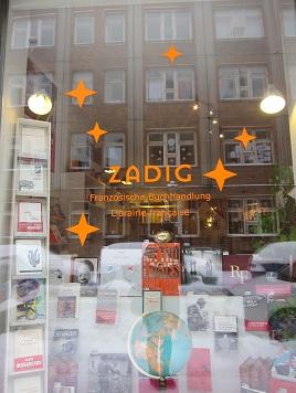 ZadigDie Französische Buchhandlung in Berlin-Mitte