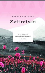 Das Buchcover © Angela Steidele: Zeitreisen. Matthes & Seitz 2018.